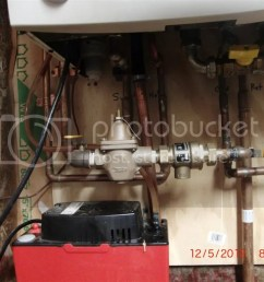 to clean i m on a septic oh that copper line between the boiler and condenstae pump it was eaten thru from the condensate it must be really acidic  [ 1024 x 768 Pixel ]