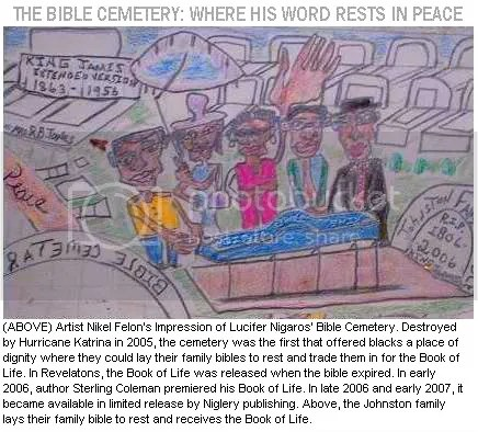 BIBLE CEMETERY