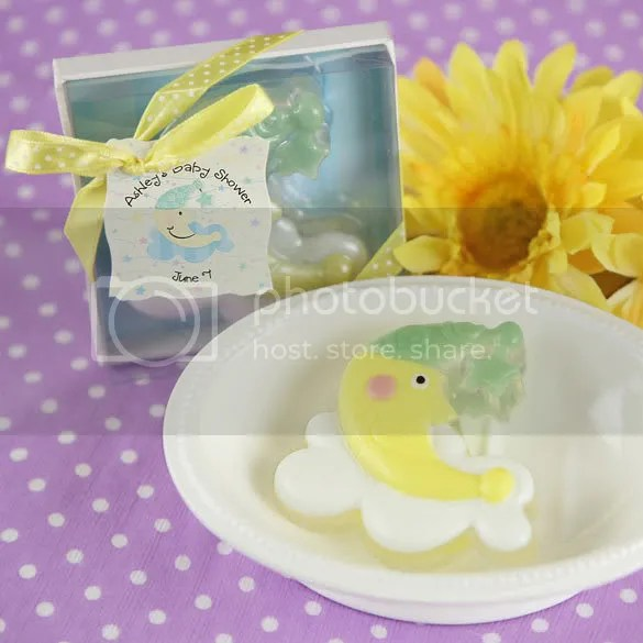 Moon and Star Soap - Personalized Baby Shower Favor