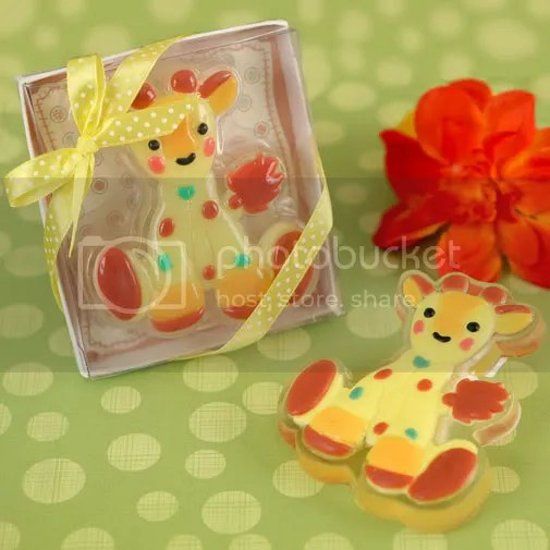 Giraffe Scented Soap Baby Shower/Birthday Party Favor