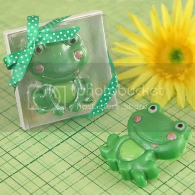 Froggy Frog Scented Soap Baby Shower/Birthday Favors