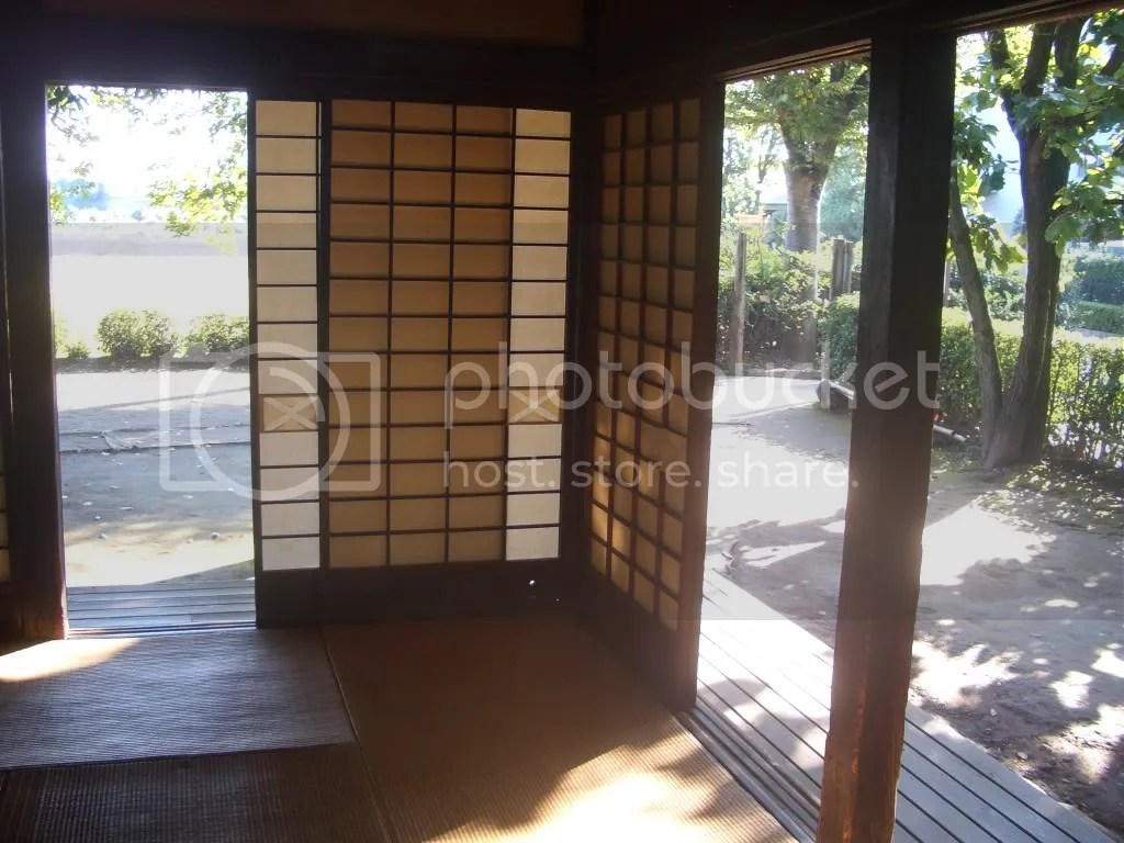 traditional tatami mat room