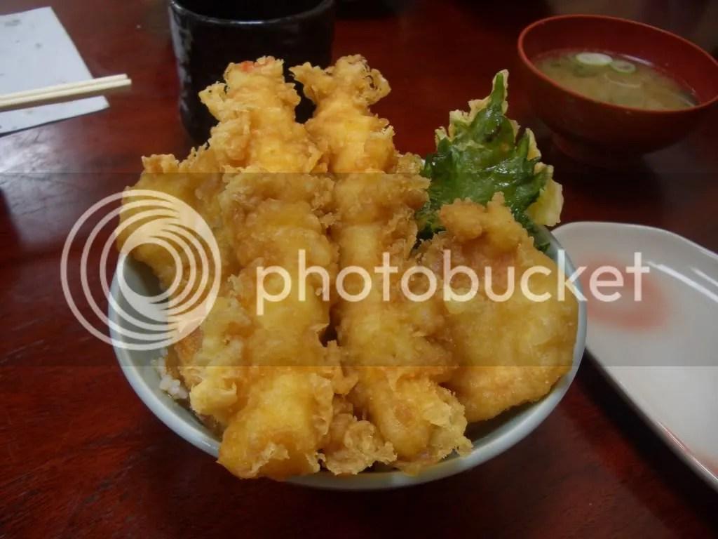 The safer, Shrimp dish I ordered