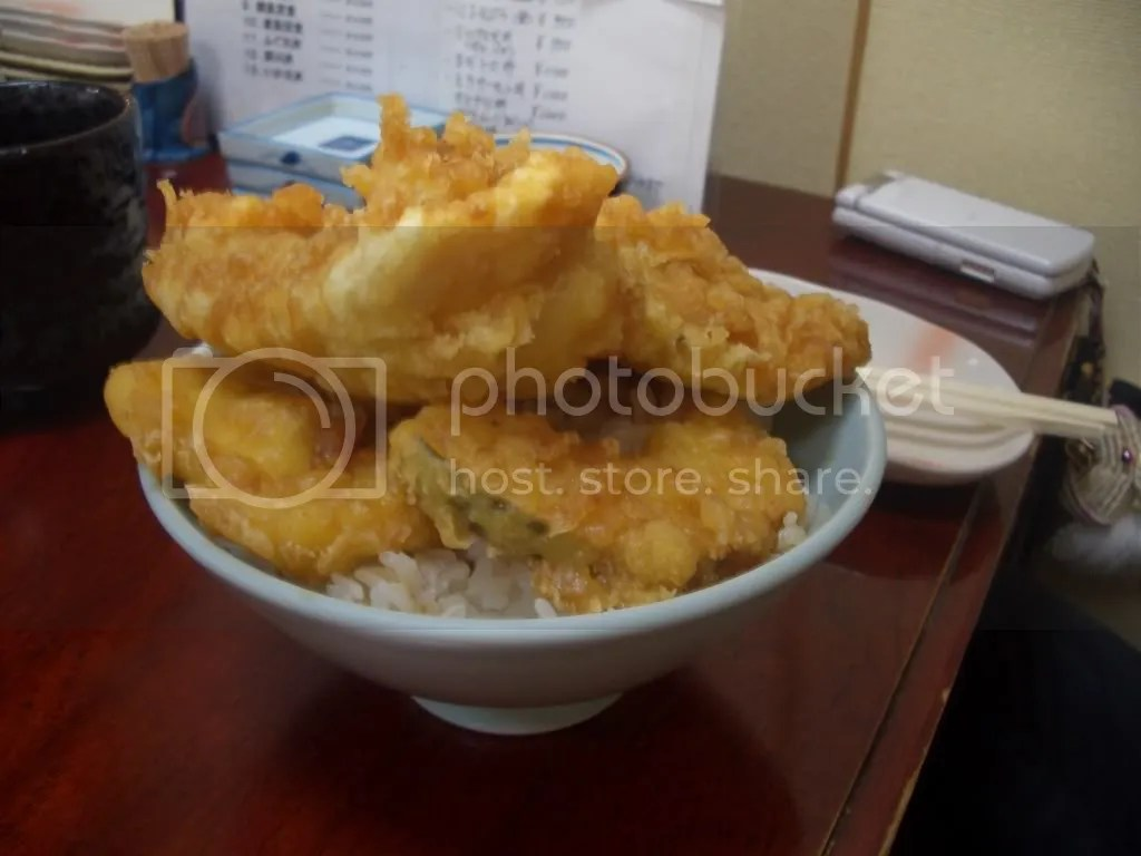 The fugu dish, in all its deep fried goodness