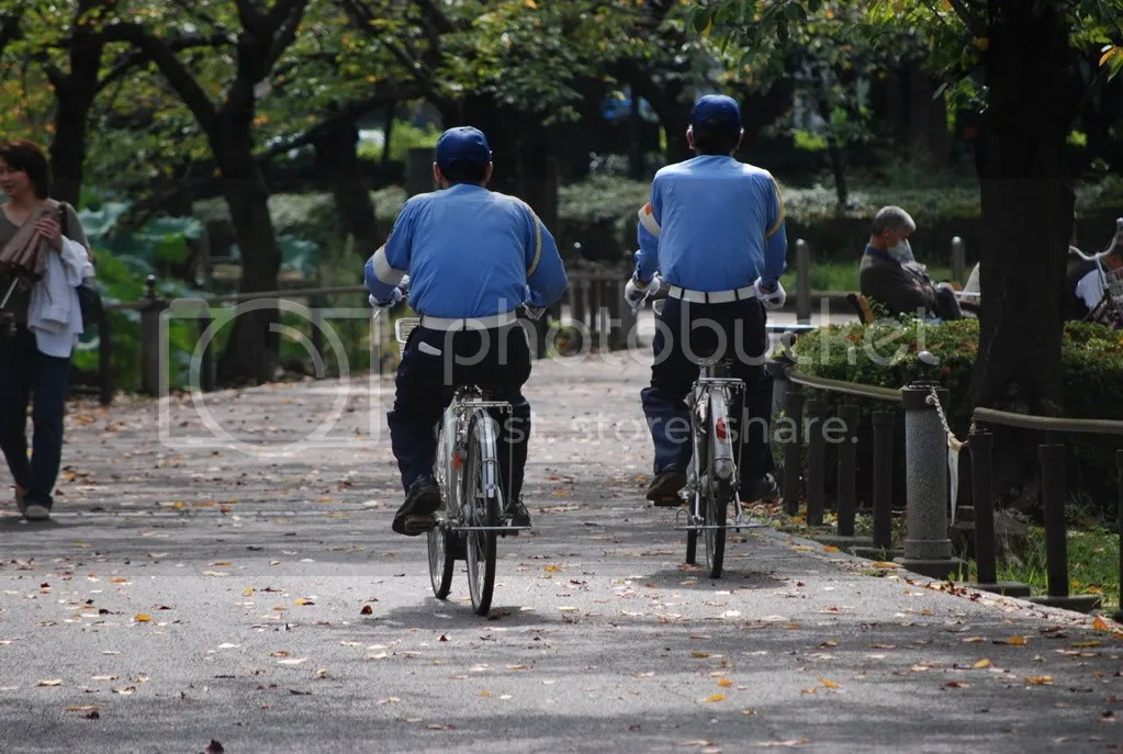 police officers on patrol