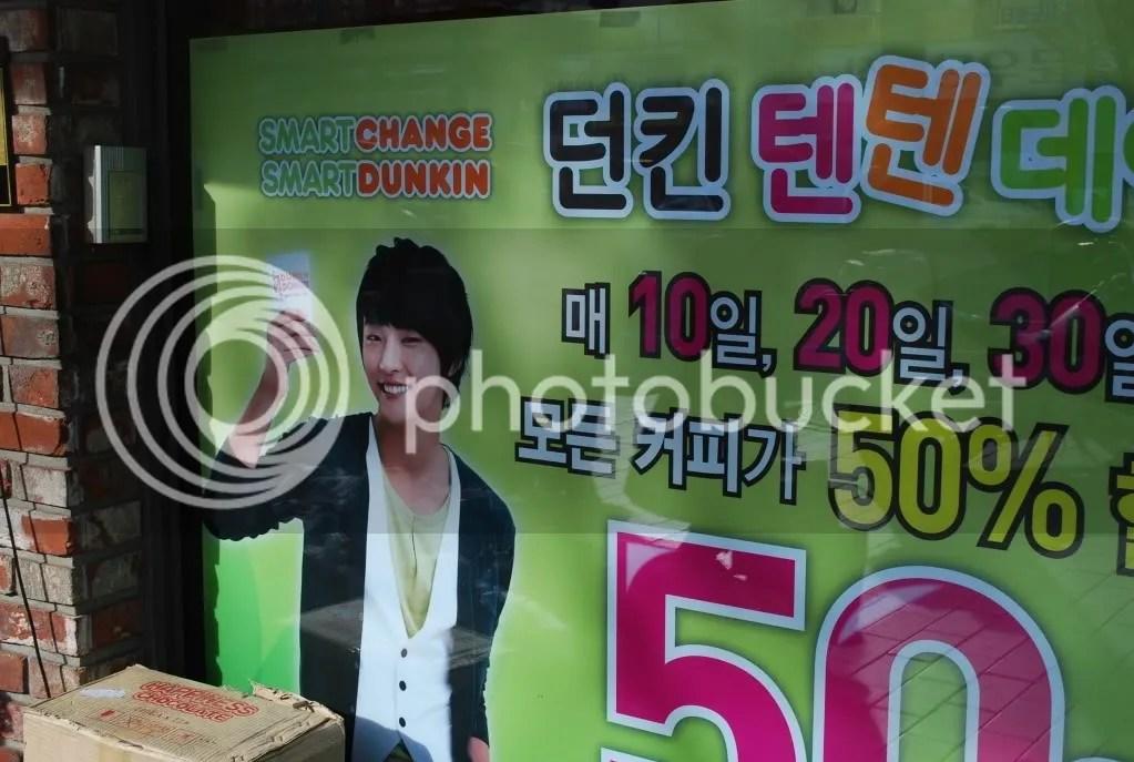 Korean Dunkin Ad