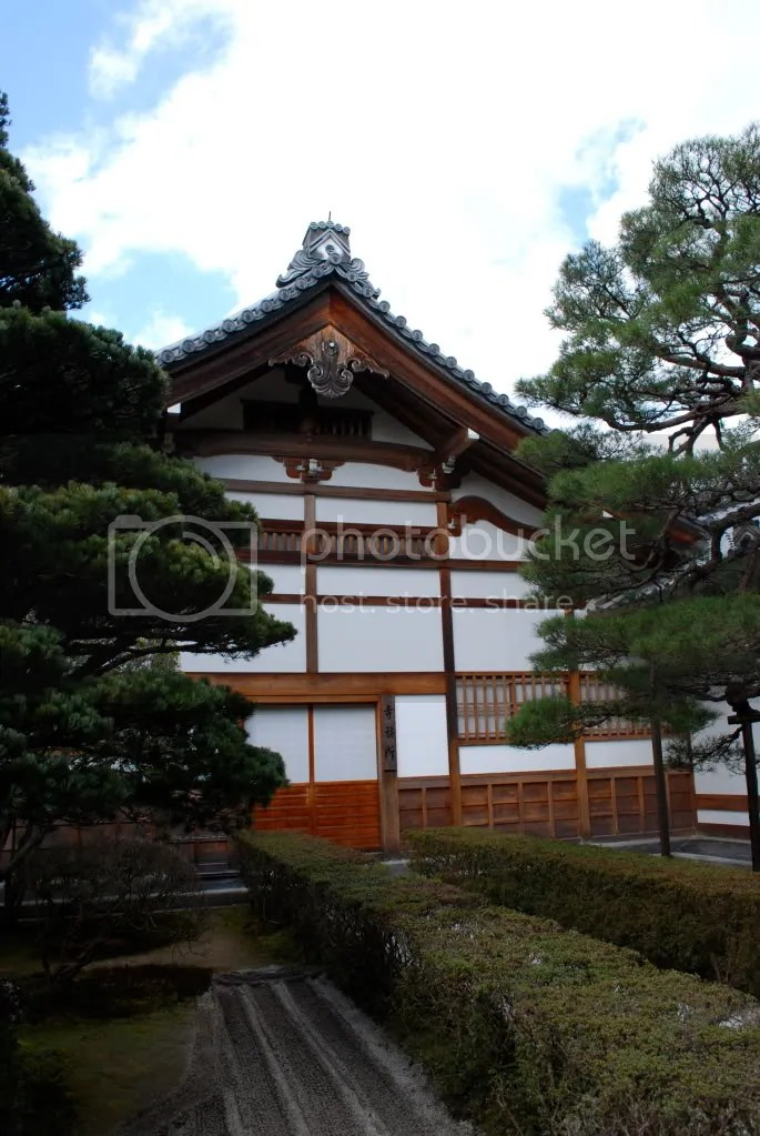 At Ginkaku-ji, the Silver Pavilion