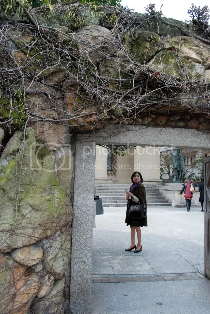 Vine covered gate