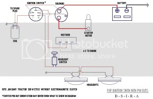 Ignition Switch  Starter  Wiring Question