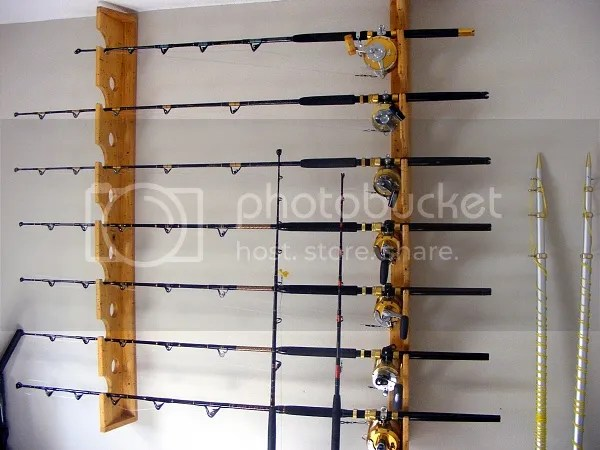 Pdf Download Fishing Rod Wall Rack Plans Plans Woodworking