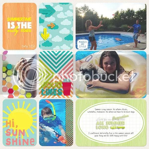 Becky Higgins Digital Project Life Hi, Sunshine Value Kit by Jenn McCabe