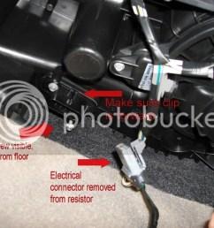 ac blower motor resistor wiring harness [ 1024 x 768 Pixel ]