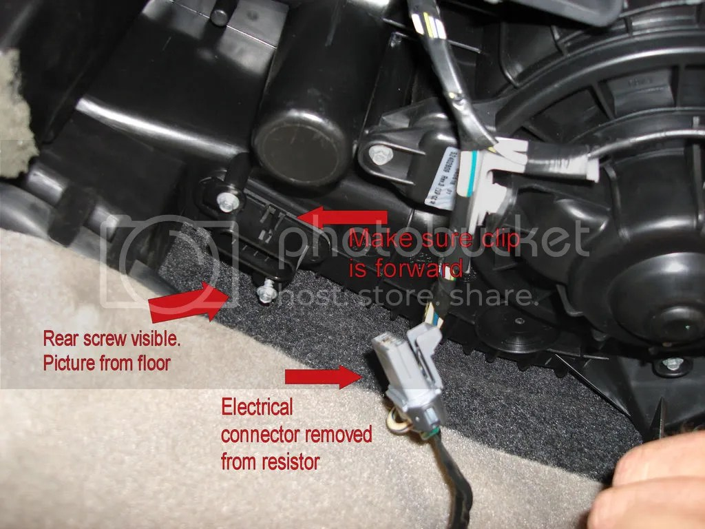 hight resolution of ac blower motor resistor wiring harness