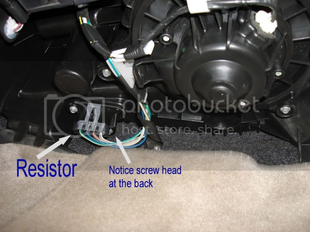 medium resolution of hvac blower motor resistor replacement toyota nation forum toyota car and truck forums