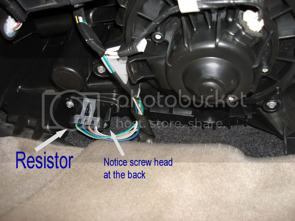 hight resolution of hvac blower motor resistor replacement toyota nation forum toyota car and truck forums