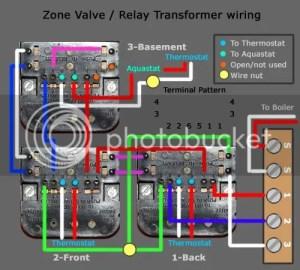 Relay Transformer Dead  killed by circulator pump