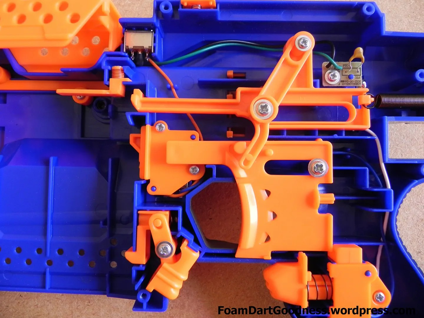 Mod Shop – Nerf Stryfe – Voltage Upgrade and Safety Removal | Foam Nerf Stryfe Mod Wiring Diagram on