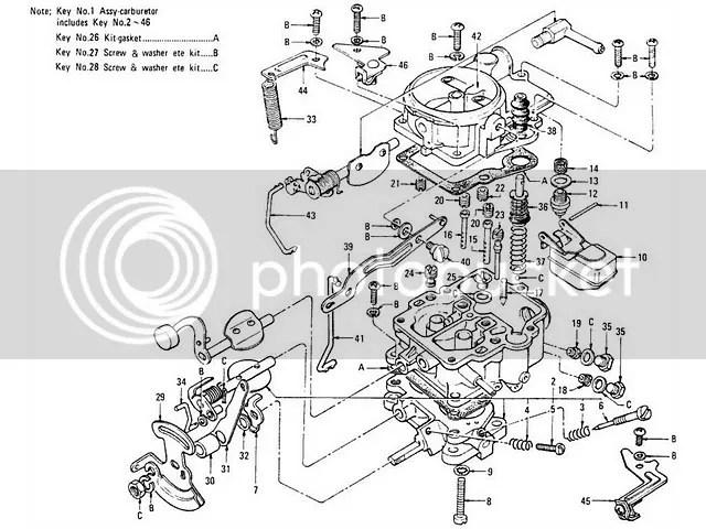 Nissan carburetor adjustment
