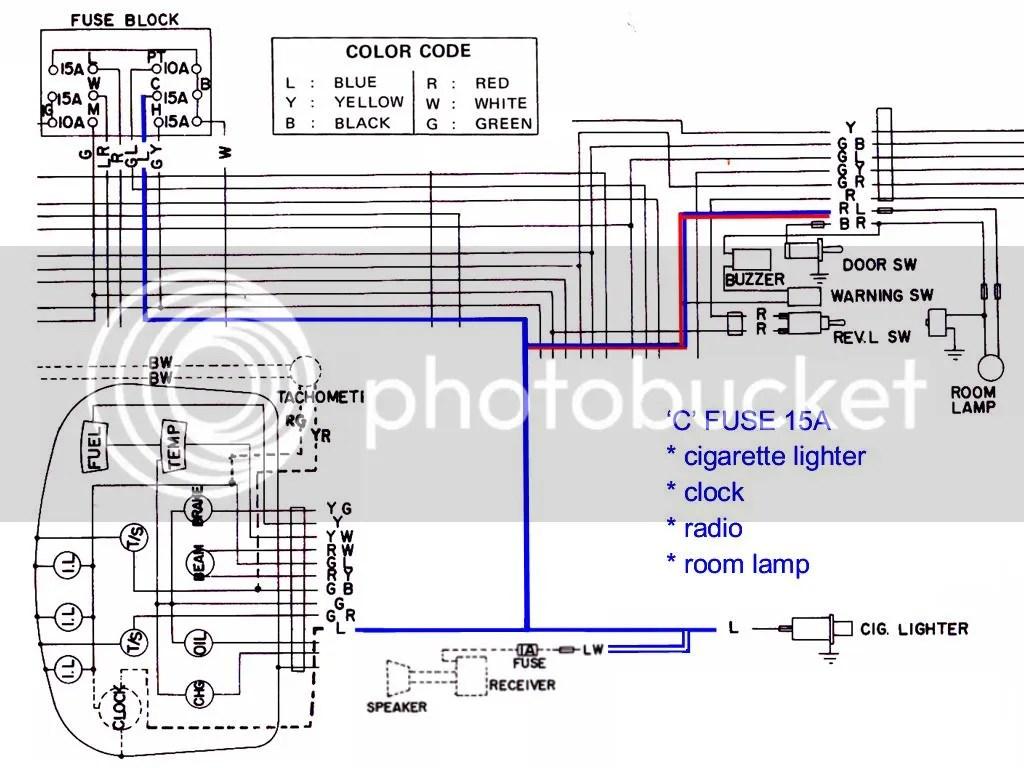 nissan 1400 ignition wiring diagram hyper v network bakkie fuse box library
