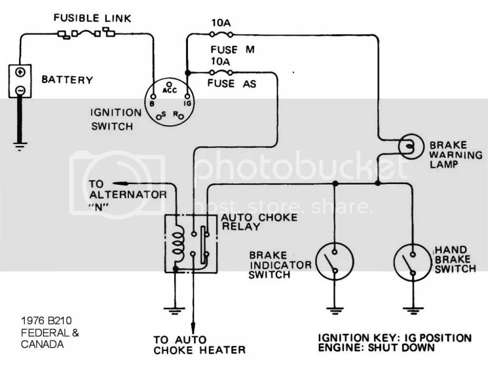 medium resolution of alternator wiring diagram datsun 210 wiring diagram home datsun 620 wiring diagram wiring diagram alternator wiring