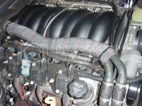 Exhaust Wrap on Radiator Hose to cut down AIT??