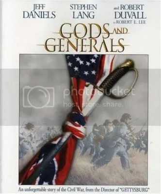 cartel promocional gods and generals