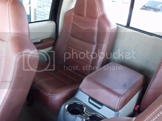 Trade My King Ranch Rear Captains Chairs For Bench Seat