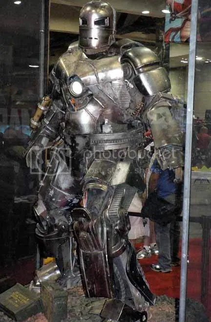 iron man armor construction