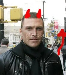 Sean Avery as the Devil, because its funny and he likes easy.