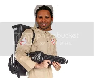 Trevor Daley uses his skills to catch ghosts!!!