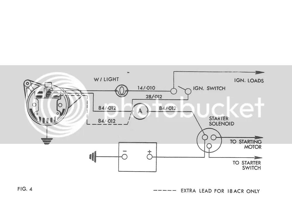 single wire alternator diagram wiring for 3 speed fan switch a127 lucas online