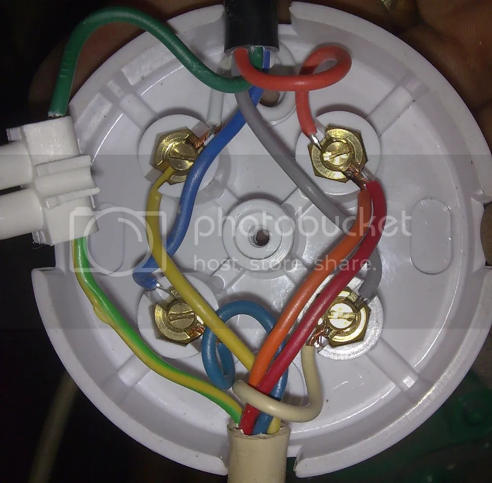 photo old 3 port valve wiring juction box png [ 1000 x 981 Pixel ]