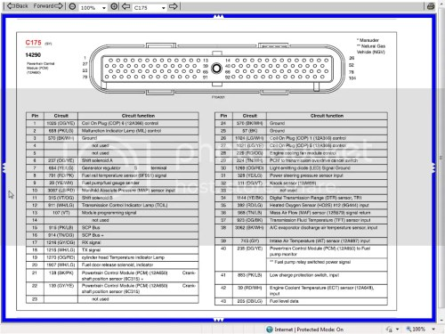 small resolution of 2003 pcm pinout 4 6l based powertrains crownvic net 99 ford crown victoria pcm wiring diagram