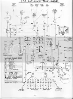 WIRING DIAGRAM FOR A65 TRIKE Photo by rebelpaul | Photobucket
