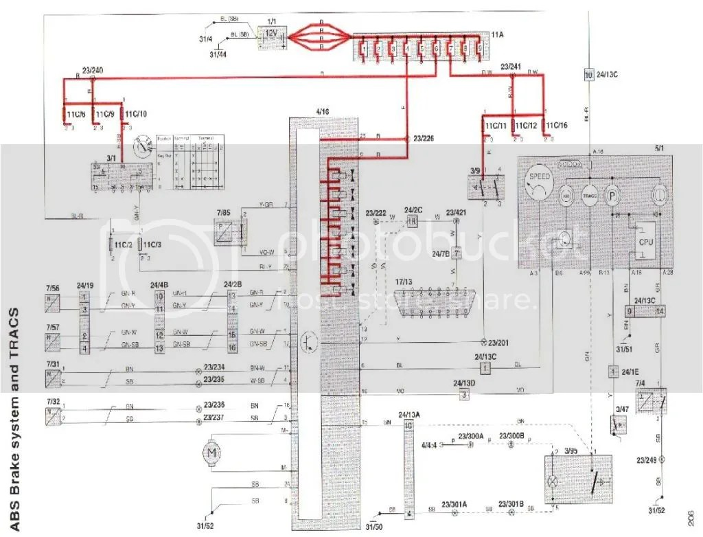 hight resolution of 1995 volvo 850 wiring diagram