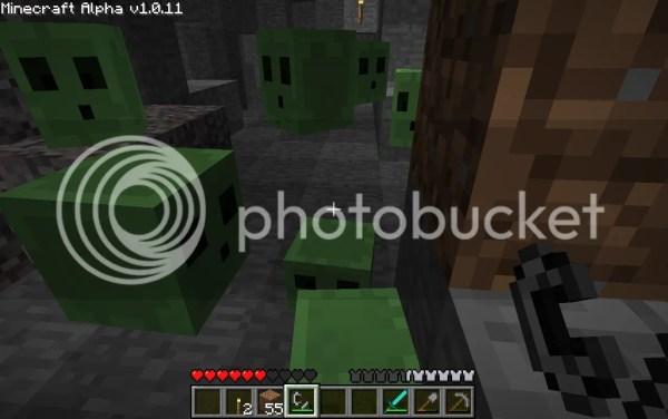 Minecraft Slime Bucket - Year of Clean Water