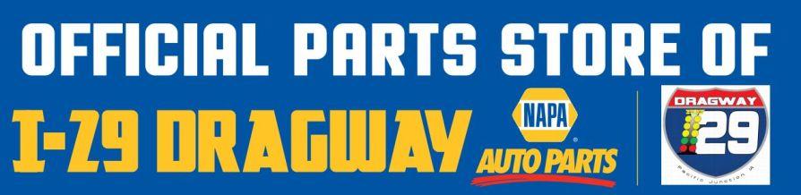 NAPA track sponsor