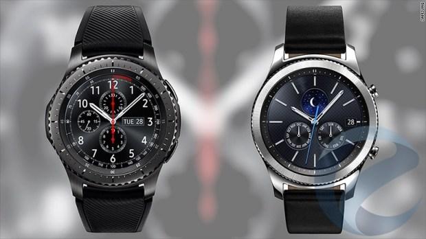 Умные часы Samsung Gear S3 поступили в продажу