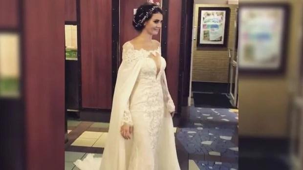 Betty Taube nach Hochzeit So schn war das Brautkleid