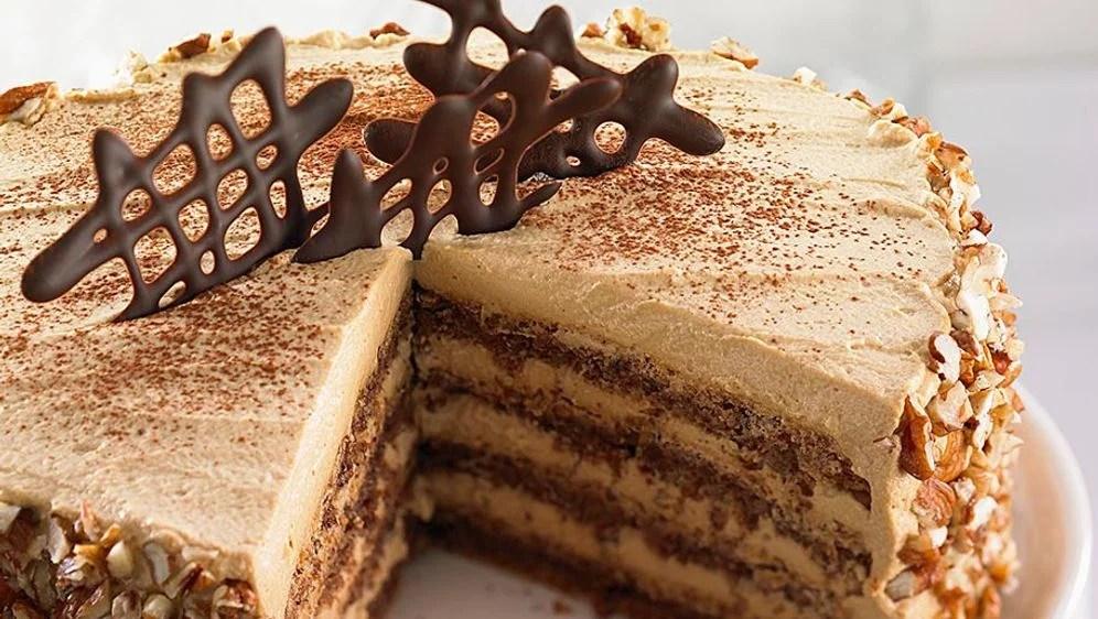 Rezept Nougat Torte