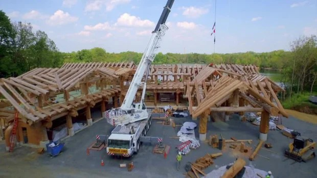 Timber Kings BlockhausPalste XXL Video Auf die