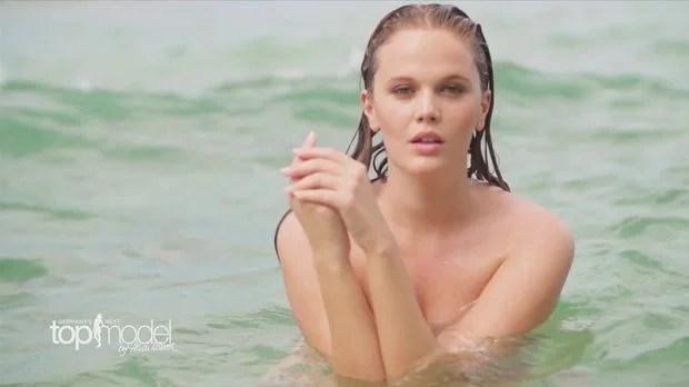 Pia nackt beim GNTMShooting  die sexy Bilder  ProSieben