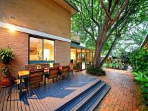 multi-level outdoor living design