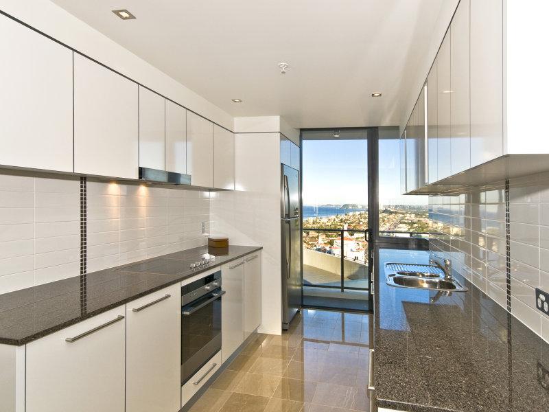 Galley Kitchen Design Using Stainless Steel Kitchen Photo 392975