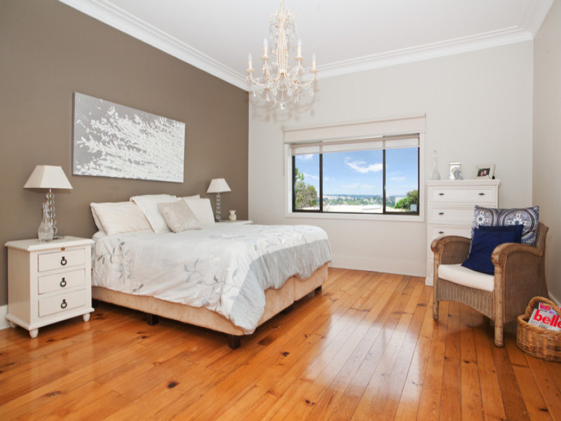 Neutral bedroom design idea from a real Australian home