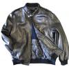 9c878f380f3 Mens Leather Bomber Jacket Soft Lambskin Black tanners avenue jacket