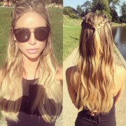 three cute and easy braided hairstyles