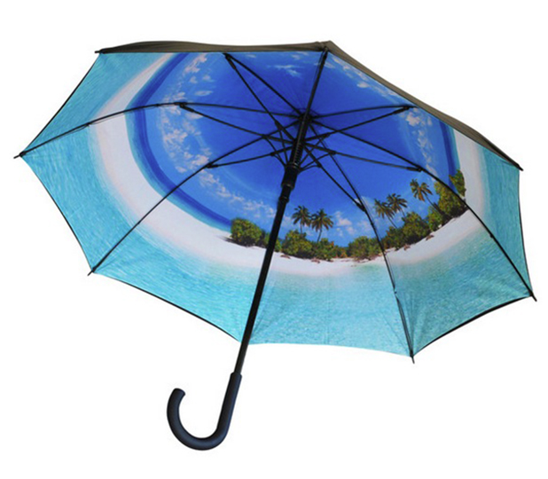 Where I'd Rather Be Paradise Umbrella