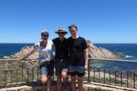 Anke, Ron and Luke Cowan