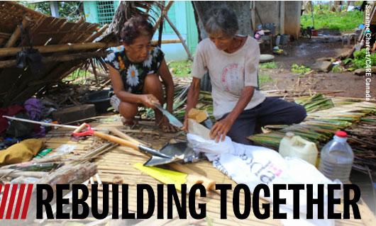 Rebuilding together.
